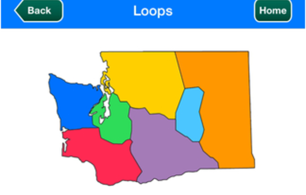 Great Washington State Birding Trail App