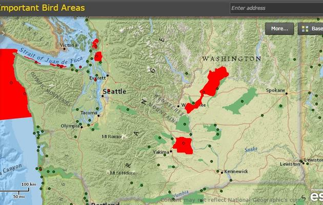 Important Bird Areas in Washington