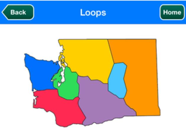 Great Washington State Birding Trail App (Temporarily Unavailable)
