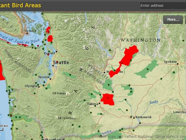 Important Bird Areas in Washington