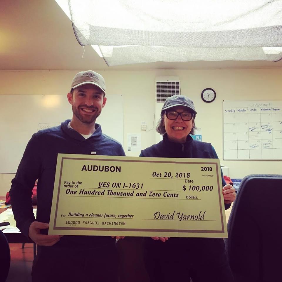 Audubon donates $100,000 to Yeson631